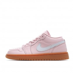 Air Jordan 1 Low Arctic Pink Gum DC0774-601 Women Men AJ1 Shoes