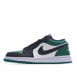 Air Jordan 1 Low Green Toe 553558-371 Women Men AJ1 Shoes
