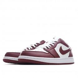 Air Jordan 1 Low Team Red DC0774-116 Women Men AJ1 Shoes