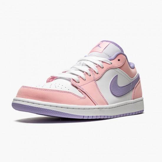 """Air Jordan 1 Low SE """"Arctic Punch"""" CK3022 600 Arctic Punch/Purple Pulse/Whit Womens AJ1 Jordan Sneakers"""