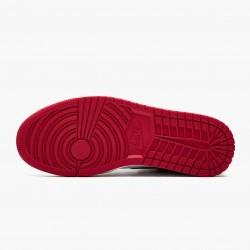 "Nike Air Jordan 1 High OG ""Satin Black Toe"" Black/Black-White-Varsity Red CD0461 016 Mens/Womens AJ1 Jordan Sneakers"