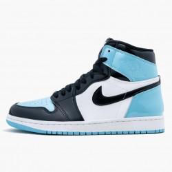"""Nike Air Jordan 1 Retro High Og """"Blue Chill"""" Obsidian/Blue Chill-White Basketball Shoes CD0461 401 AJ1 Sneakers"""