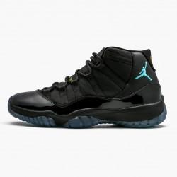"Air Jordan 11 Retro ""Gamma Blue"" Mens Basketball Shoes 378037 006 Black/Gamma Blue-Varsity Maize AJ11 Black Jordan Sneakers"