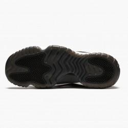 "Air Jordan 11 Retro ""Heiress Black Stingray"" Unisex Basketball Shoes 852625 030 Black/Metallic Gold-White AJ11 Black Jordan Sneakers"