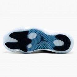 "Air Jordan 11 Retro UNC ""Win Like 82"" Mens Basketball Shoes 378037 123 White/University Blue AJ11 Black Jordan Sneakers"