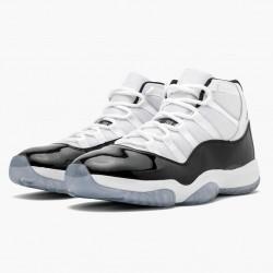 """Nike Air Jordan 11 Retro """"Concord"""" 2018  White/Black-Concord Basketball Shoes 378037 100 AJ11 Sneakers"""