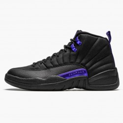 "Air Jordan 12 Retro ""Dark Concord"" Mens AJ12 Basketball Shoes CT8013 005 Black/Black-Dark Concord Jordan Sneakers"