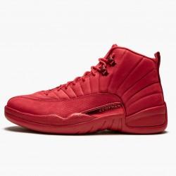 "Air Jordan 12 Retro ""Gym Red"" Mens AJ12 Basketball Shoes 130690 601 Gym Red/Black-Gym Red Jordan Sneakers"