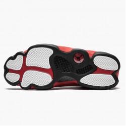 "Air Jordan 13 Retro ""Bred (2017)"" Unisex Basketball Shoes 414571 004 Black/True Red-White AJ13 Jordan Sneakers"