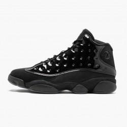 """Air Jordan 13 Retro """"Cap and Gown"""" Mens Basketball Shoes Black 414571 012 AJ13 Jordan Sneakers"""