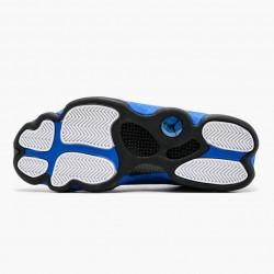 "Air Jordan 13 Retro ""Hyper Royal"" Mens Basketball Shoes 414571 117 White/Hyper Royal-Black AJ13 Jordan Sneakers"