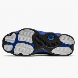 "Air Jordan 13 Retro ""Hyper Royal"" Mens Basketball Shoes Black/Hyper Royal-Black-White 414571 040 AJ13 Jordan Sneakers"