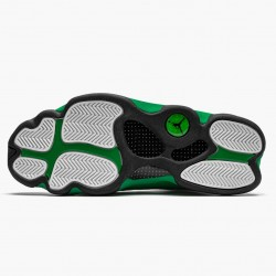 "Air Jordan 13 Retro ""Lucky Green"" Mens Basketball Shoes White/Black-Lucky Green DB6537 113 AJ13 Jordan Sneakers"