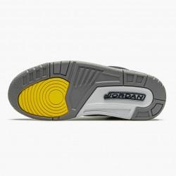 """Air Jordan 3 Retro """"Michigan"""" Mens Basketball Shoes AJ3 820064 Black/University Gold-Cement G AJ3 Jordan Sneakers"""
