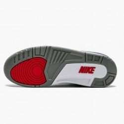 "Air Jordan 3 Retro OG ""True Blue"" Mens Basketball Shoes 854262 106 White/Fire Red-True Blue AJ3 Jordan Sneakers"