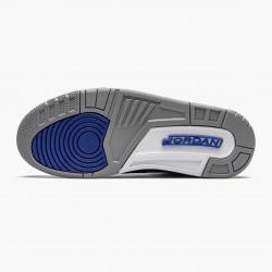 "Air Jordan 3 Retro ""Varsity Royal Cement"" Unisex Basketball Shoes CT8532 400 Varsity Royal/Varsity Royal AJ3 Jordan Sneakers"