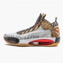 "Air Jordan XXXIV ""Jayson Tatum"" Mens AJ34 Basketball Shoes DA1899 900 Multi-Color/University Red Jordan Sneakers"