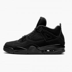 "Air Jordan 4 Retro ""Black Cat"" Unisex Basketball Shoes CU1110 010 Black/Black-Light Graphite AJ4 Jordan Sneakers"