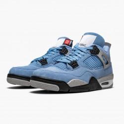 "Air Jordan 4 Retro ""University Blue"" CT8527 400 University Blue/Tech Grey-Whit Unisex AJ4 Jordan Sneakers"