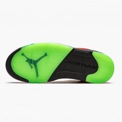 "Air Jordan 5 Retro ""What The"" Mens Basketball Shoes Varsity Maize/Court Purple-Gho CZ5725 700 AJ5 Jordan Sneakers"