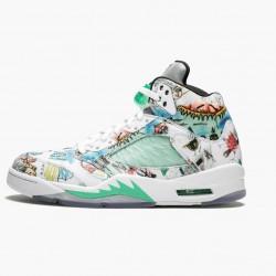 "Air Jordan 5 Retro ""Wings"" Unisex Basketball Shoes Multi Color/Multi Color AV2405 900 AJ5 Jordan Sneakers"