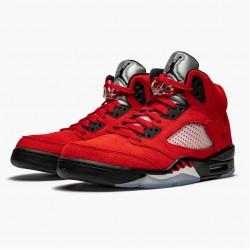 """Air Jordan 5 Retro """"Raging Bull Red"""" DD0587 600 Varsity Red/Black-White Mens AJ5 Jordan Sneakers"""