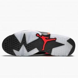 """Air Jordan 6 Retro """"Black Infrared"""" Mens Basketball Shoes 384664 060 Black/Infrared AJ6 Black Jordan Sneakers"""