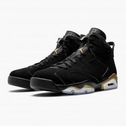 """Nike Air Jordan 6 Retro """"DMP"""" 2020 Black/Metallic Gold Basketball Shoes CT4954 007 AJ6 Sneakers"""