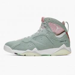 "Air Jordan 7 Retro ""Neutral Grey"" Mens Basketball Shoes Reflect Grey/Pink-White CT8528 002 AJ7 Jordan Sneakers"